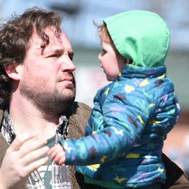 Candid at Parade  by Lorraine D.  Heaney - People Street & Candids