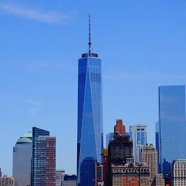 view from the boat by NY Joyce - City,  Street & Park  Skylines