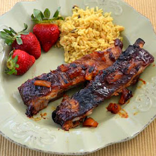 Crock Pot Hawaiian BBQ Ribs