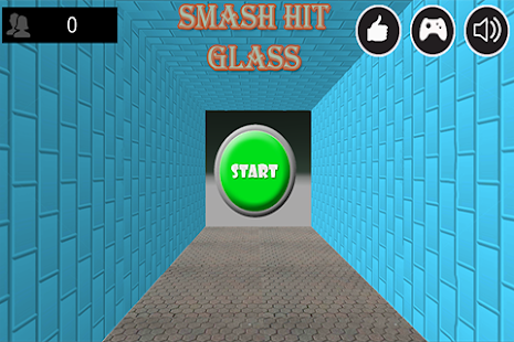 Smash Hit Glass - screenshot