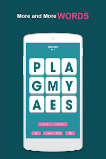 9 Letters-Word Brain Puzzle - screenshot
