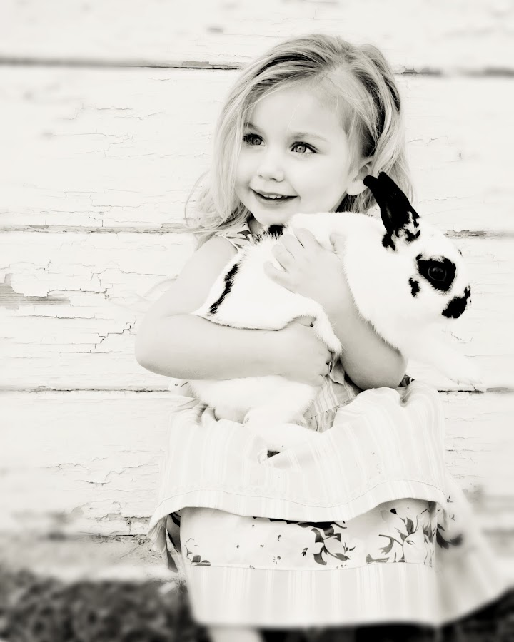 Bunny by Karen  Edwards - Babies & Children Children Candids ( child, girl, bunny )
