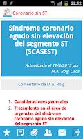 Screenshot of Estrategias en Urgencias