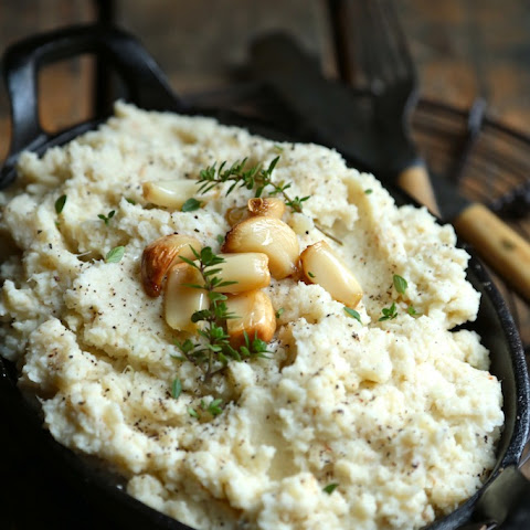 Roasted Garlic Whipped Cauliflower
