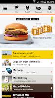 Screenshot of Max App