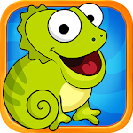 Tap the Fly : Chameleon Icon