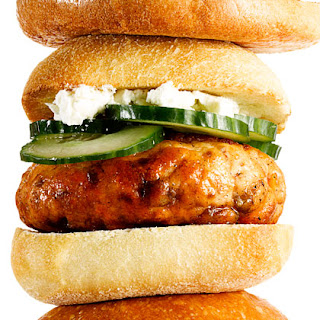 Greek Salmon Burgers