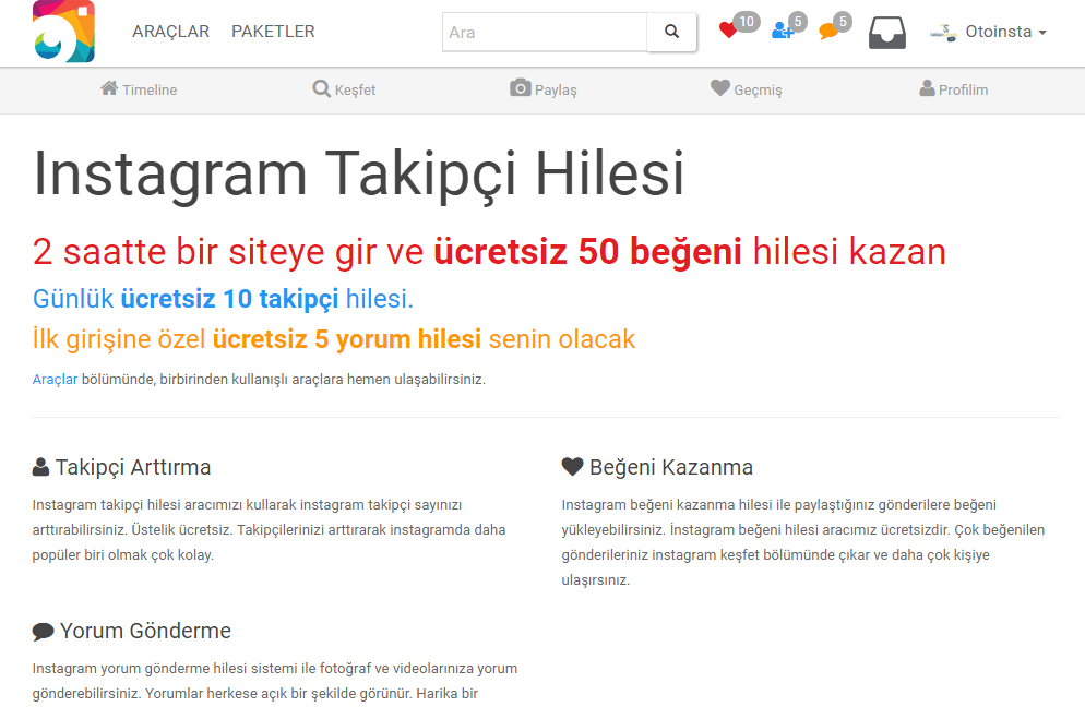 Takipçi ve Begeni APK 1.1 Download - Free Social APK Download