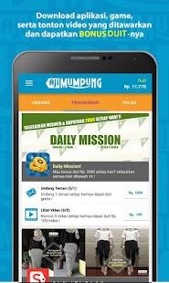 Ajimumpung: Uang pulsa gratis APK for Blackberry