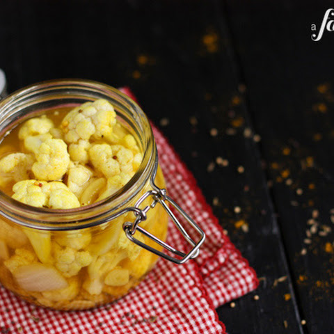 Pickled Curry Cauliflower