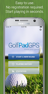 Golf GPS Rangefinder: Golf Pad for pc