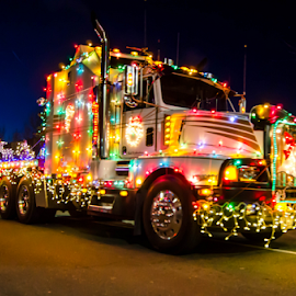 Truck Parade by Darren Sutherland - Public Holidays Christmas ( parade, local stuff )