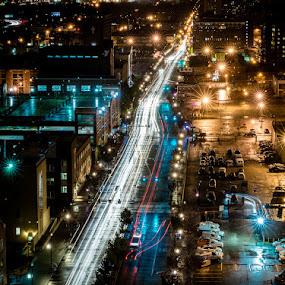 by Brian Baker - City,  Street & Park  Street Scenes