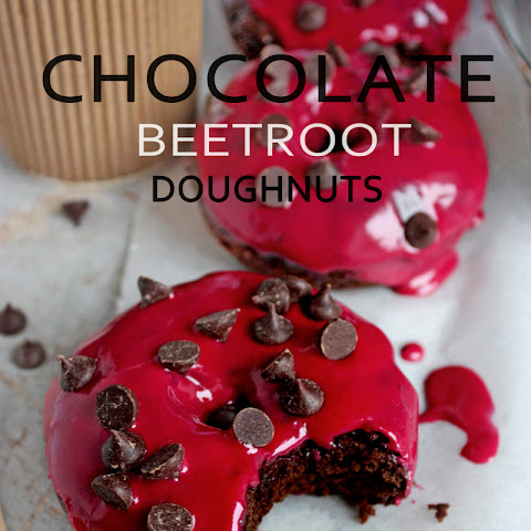 Chocolate beetroot cake doughnuts- Virtual vegan potluck NOV 2013