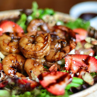 Balsamic Shrimp Salad