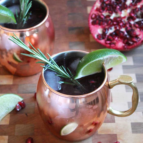 Holiday Moscow Mules