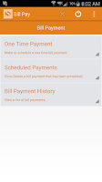 Screenshot of MySBank Mobile
