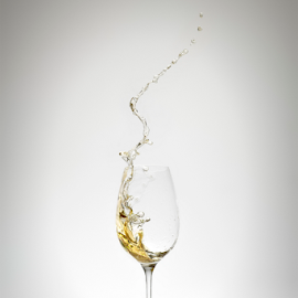 white wine splash by Markus Gann - Food & Drink Alcohol & Drinks ( splatter, splash, swirl, drop, one, flow, object, yellow, party, goblet, refreshing, tempting, life, grape, lifestyle, pouring, juice, drink, action, pour, glass, motion, celebrate, closeup, winery, cool, abstract, wine, anniversary, white, glassware, romantic, spill, squirt, close-up, dinner, liquid, beverage, splashing, alcohol, background, celebration, stem, liquor, wineglass )
