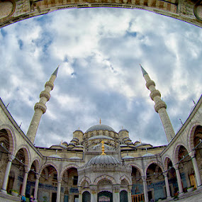 New Mosque, Spice Bazaar, Turkiye by Sefanya Dirgagunarsa - Buildings & Architecture Places of Worship ( #jipchallenge #paisley #photography, landmark, travel )