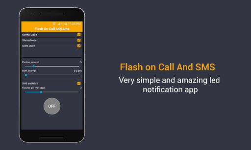 Flash on Call & SMS screenshot 4