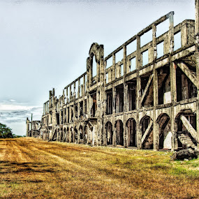 The Barracks of Corregidor by Rman Alfred Lorenzo - Buildings & Architecture Public & Historical ( barracks )