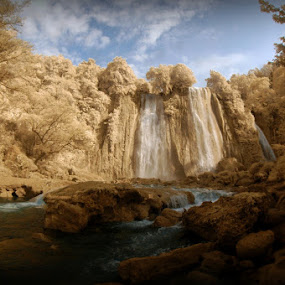 Cikaso Waterfall by Niko Wazir - Landscapes Waterscapes