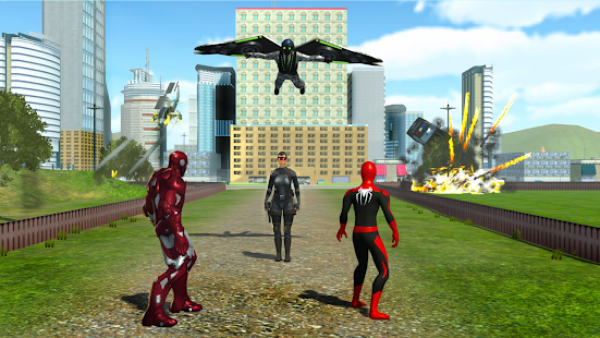 Spiderheroes vs wullture homecoming