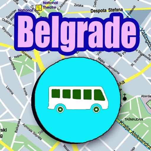 Android aplikacija Belgrade Bus Map Offline na Android Srbija