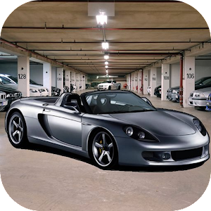Fast Car Parking Icon