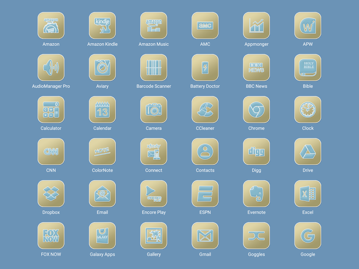 Pastel Collection 6 Icon Pack Screenshot 10