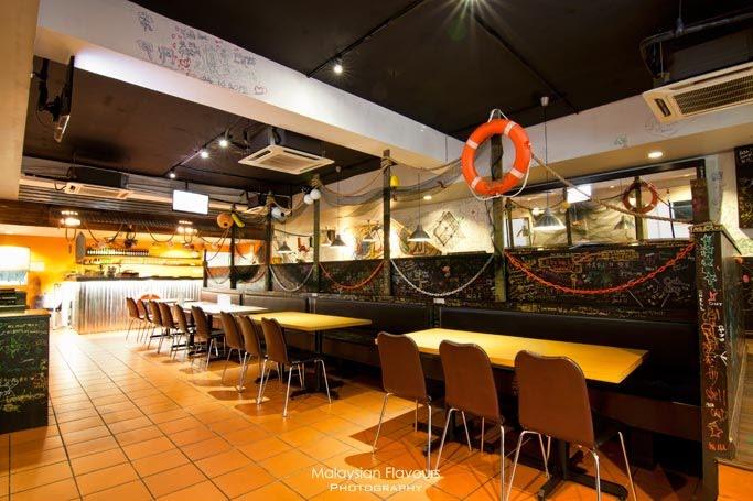 Shell out shell out seafood restaurant malaysia food for Food bar kota damansara