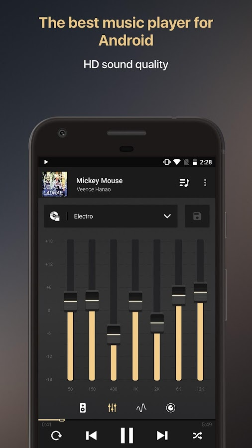 Equalizer music player booster Screenshot 0