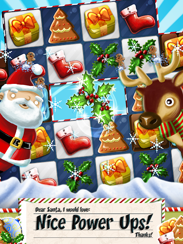 android Xmas Swipe Screenshot 5