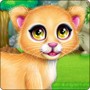 Download Baby Lion Caring for Windows Phone