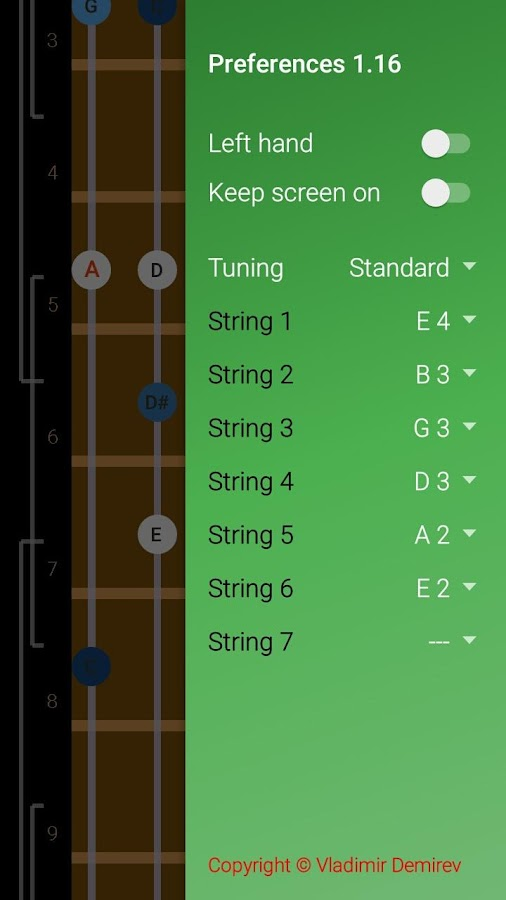 Guitar Scales & Patterns Screenshot 5