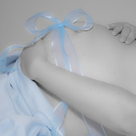 It's A Boy! by Chris Cavallo - People Maternity ( maternity, selective color, blue, pregnancy, pregnant, baby boy, boy,  )