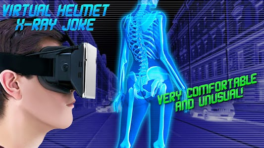 Virtual Helmet X-Ray Joke APK