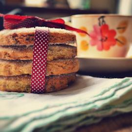 Tea-time by Nikki Kitley - Food & Drink Cooking & Baking ( food, baking, homemade, tea, biscuits )