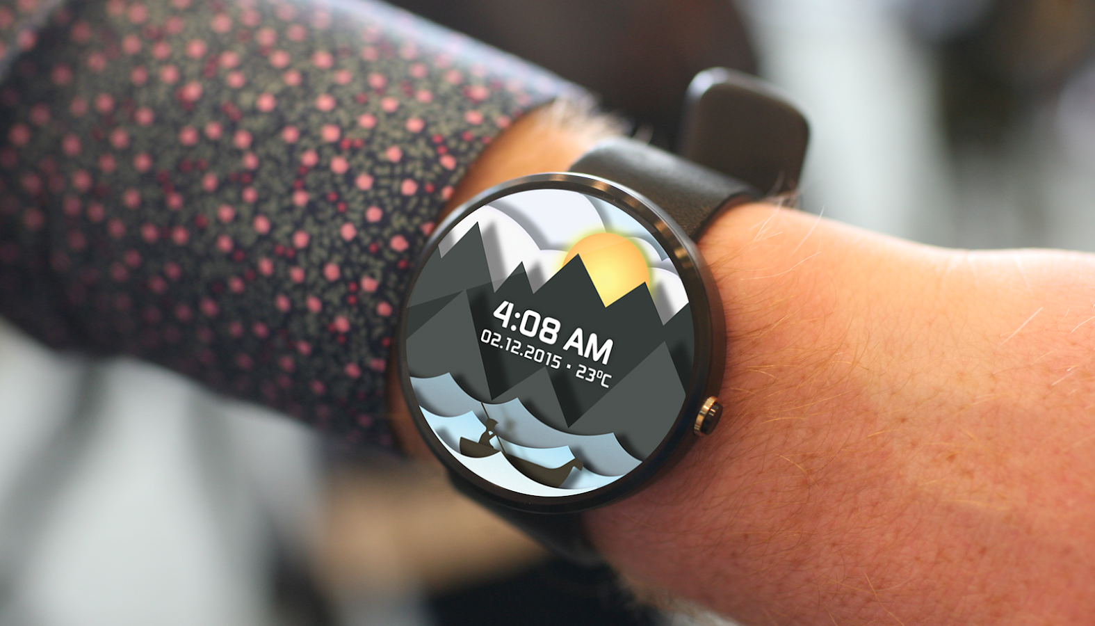 Time Sailor Animated Watchface Screenshot 0