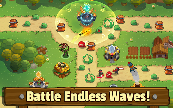 Realm Defense: Fun Tower Game APK screenshot thumbnail 8