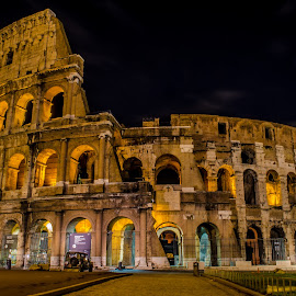 Coloseum..!! by Kshitij  Saxena - Buildings & Architecture Public & Historical ( history, colosseum, collosseo, rome, italy )