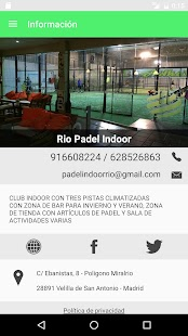 PADEL INDOOR RIO - screenshot