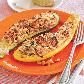 Stuffed Summer Squash Chicken Recipes