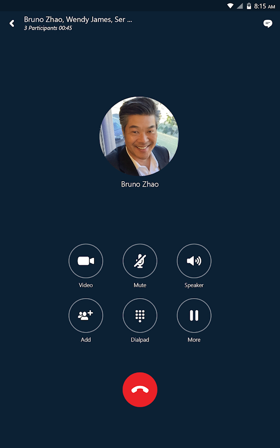 Skype for Business for Android Screenshot 10