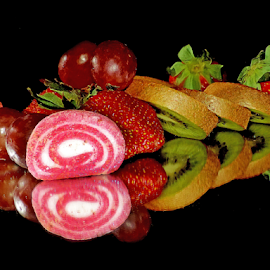 fruits and candy by LADOCKi Elvira - Food & Drink Fruits & Vegetables ( fruits )
