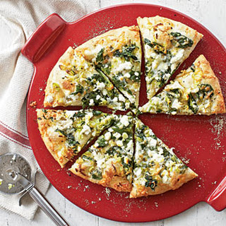 Spinach Garlic And Cheese Pizza Recipes