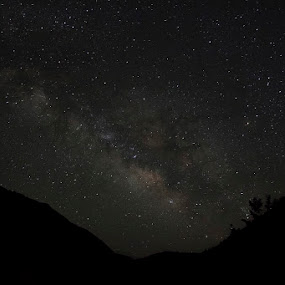 Milky Way - Kalash 15th May 2013 by Yuni  Khan - Landscapes Starscapes