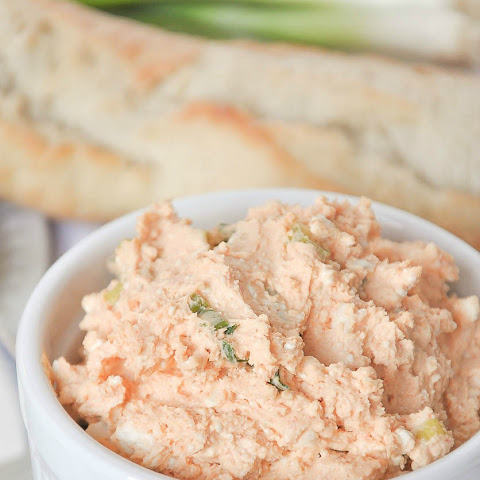 Savory Cheese Spread Appetizer With Hungarian Sweet Paprika (Körözött)
