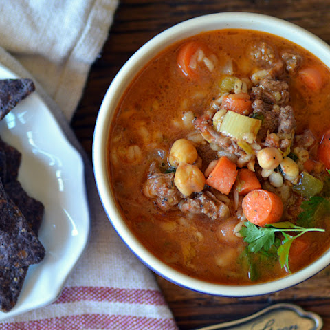 ground beef and barley soup beef barley soup and southern beef ...