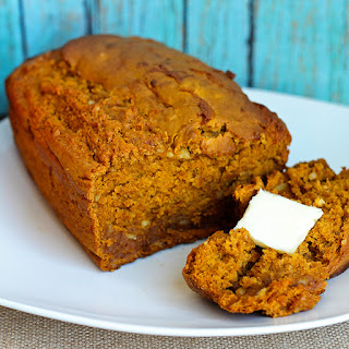 Skinny Pumpkin Banana Quick Bread